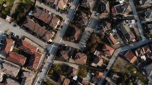 Drone Footage of Roofs