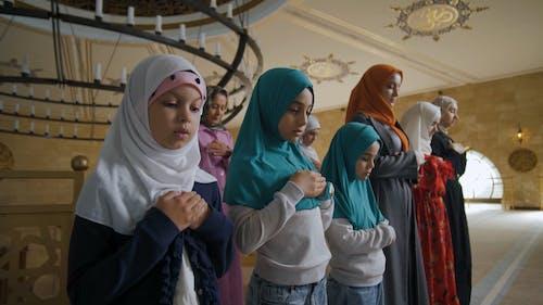 Women and Children Praying