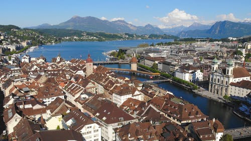 Drone Footage of Lucerne