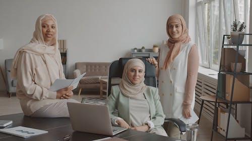 Beautiful Women Wearing Hijab