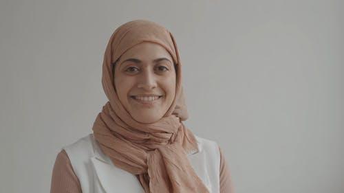 A Woman Wearing a Hijab