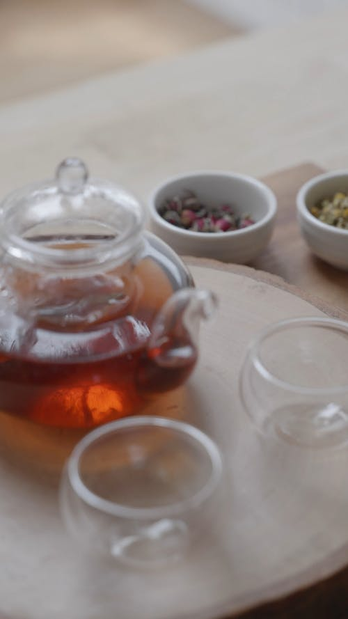 Tea Ingredients on the Table