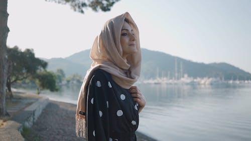 A Woman Enjoying the View