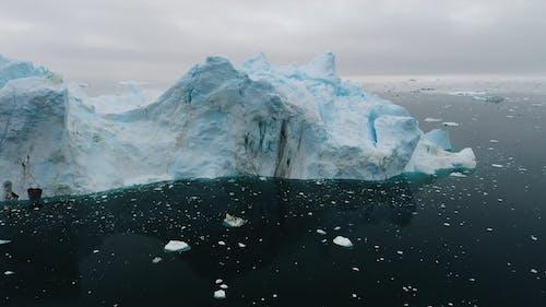 Floating Iceberg at Greenland