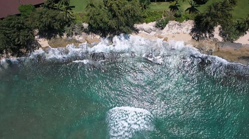 Drone Footage of a Shore