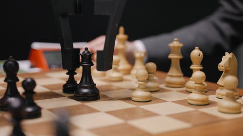 A Robot Playing Chess