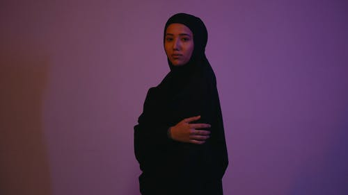 Female Model Wearing a Hijab