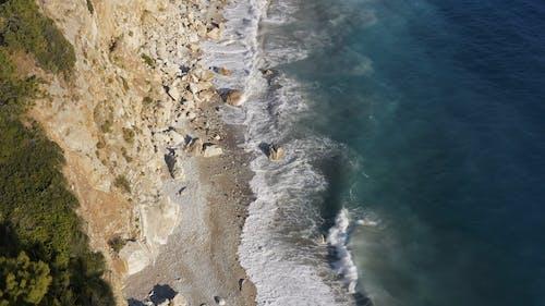 Waves Hitting The Coast