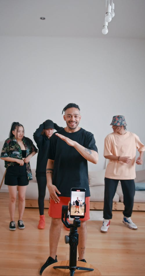 People Recording Themselves Dancing