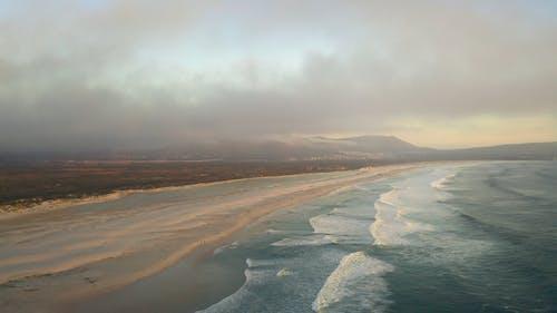 Drone Footage of The Shoreline