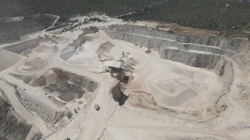 Drone Footage of a Mining Site