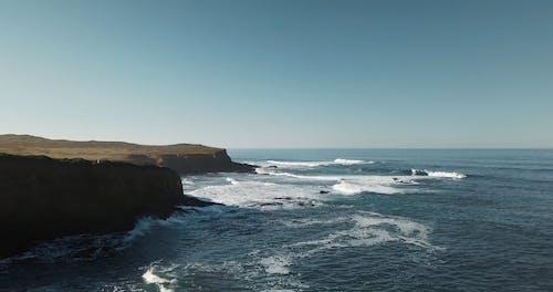 Aerial Footage of a Coast
