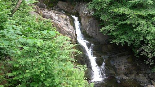 A Waterfall at Ingleton Trail