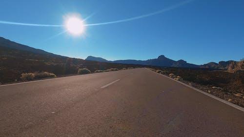 Narrow Road Under the Blue Sky