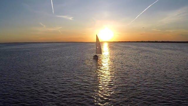 Sailboat Sailing During Sunset