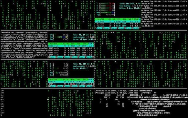 Matrix Console Hacking Code