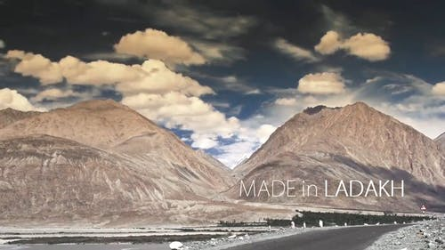 Timelapse of Mountains and the Sky