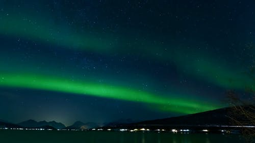 Time Lapse Video Of Aurora Borealis