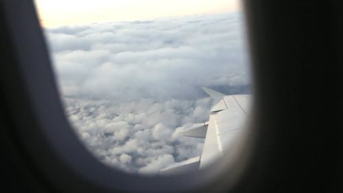 Window View Of Clouds