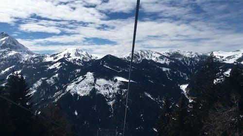 Mountain View Video While Riding A Ski Lifft