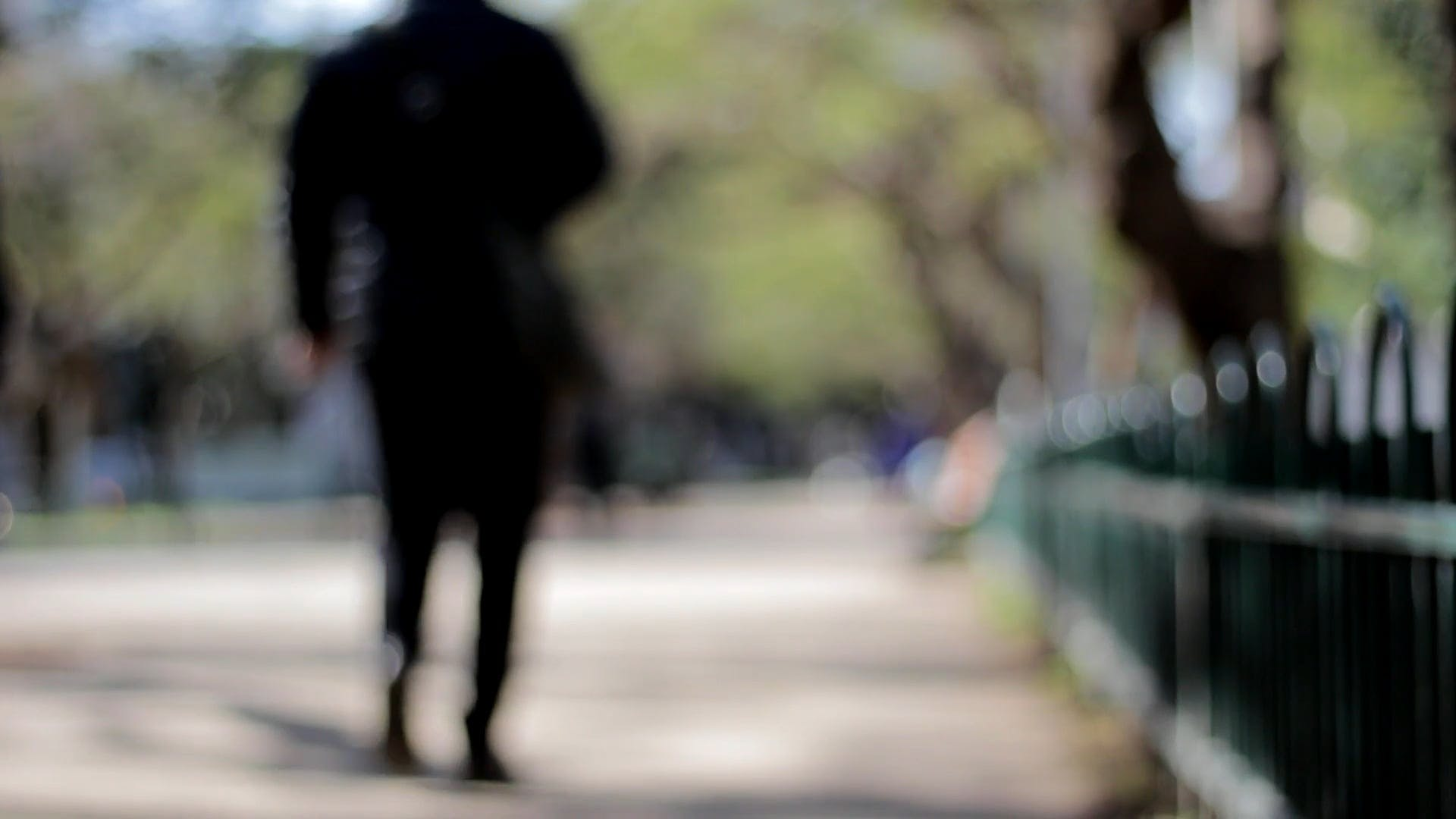 Out Of Focus Video Of People Walking