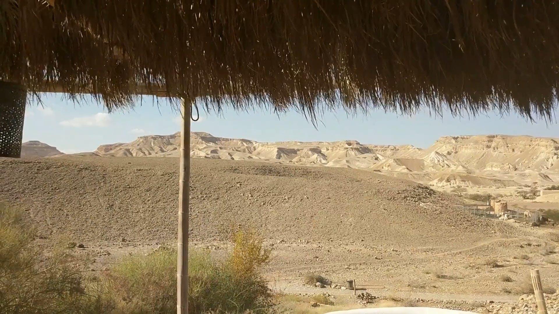Hut In A Desert