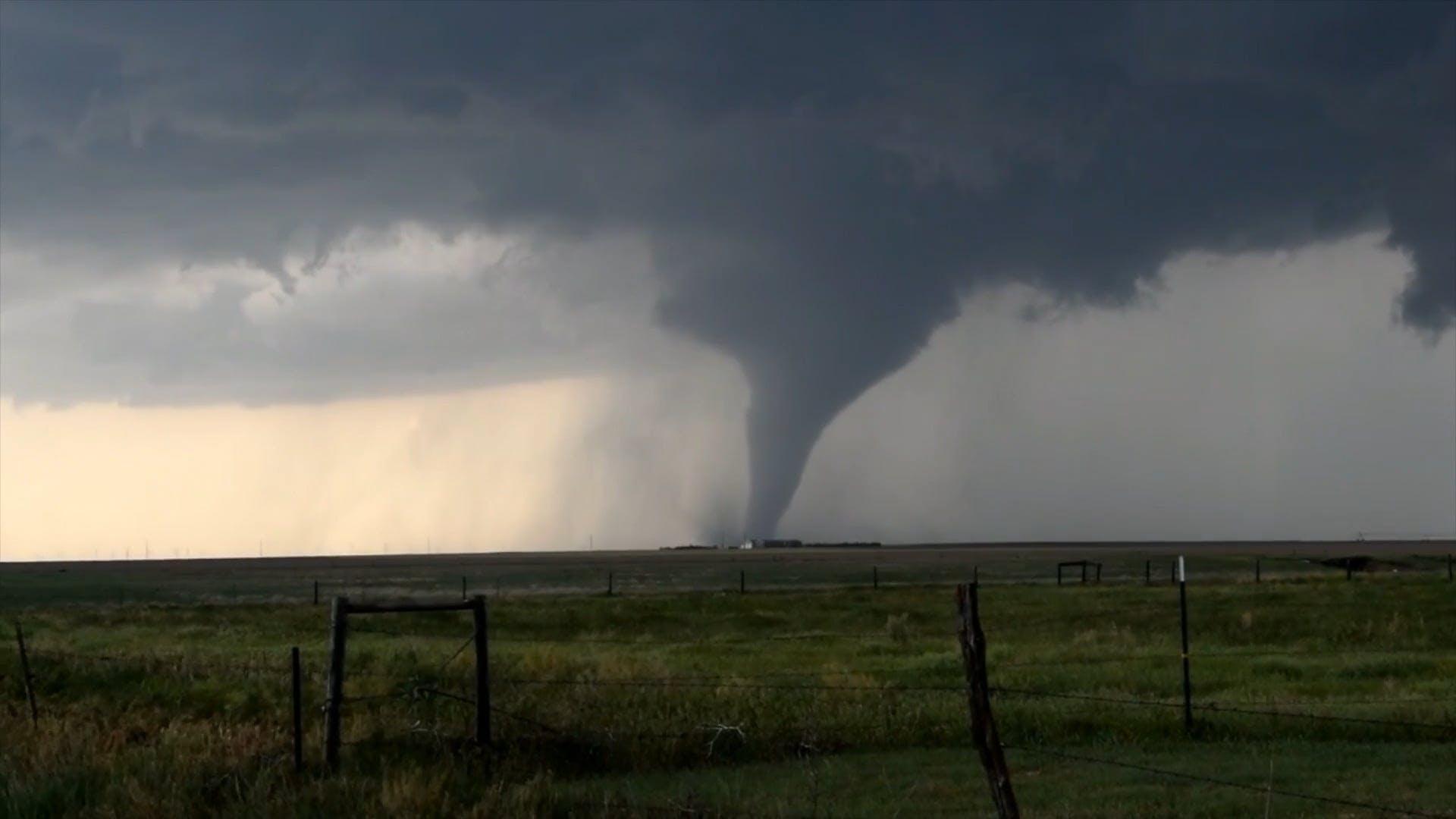 Footage Of Tornado