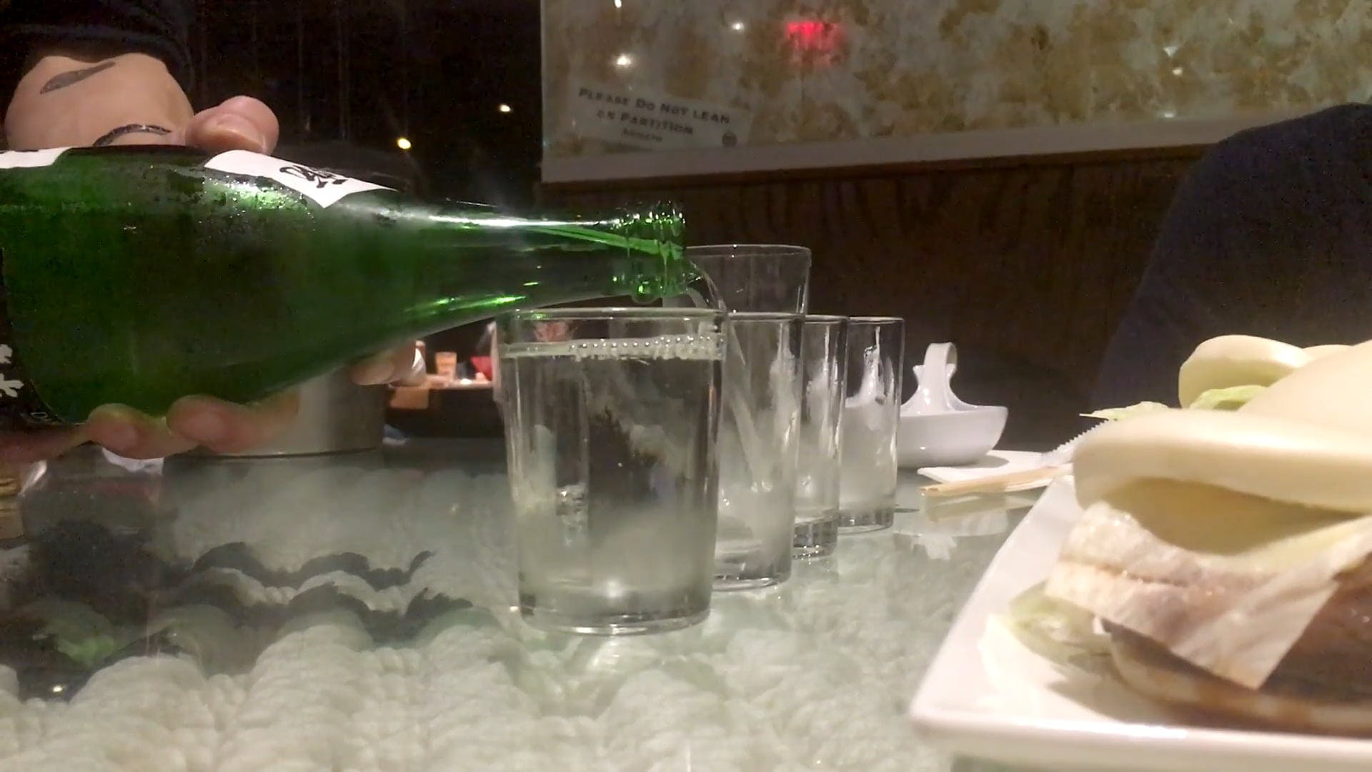 Pouring Of Japanese Alcoholic Drink