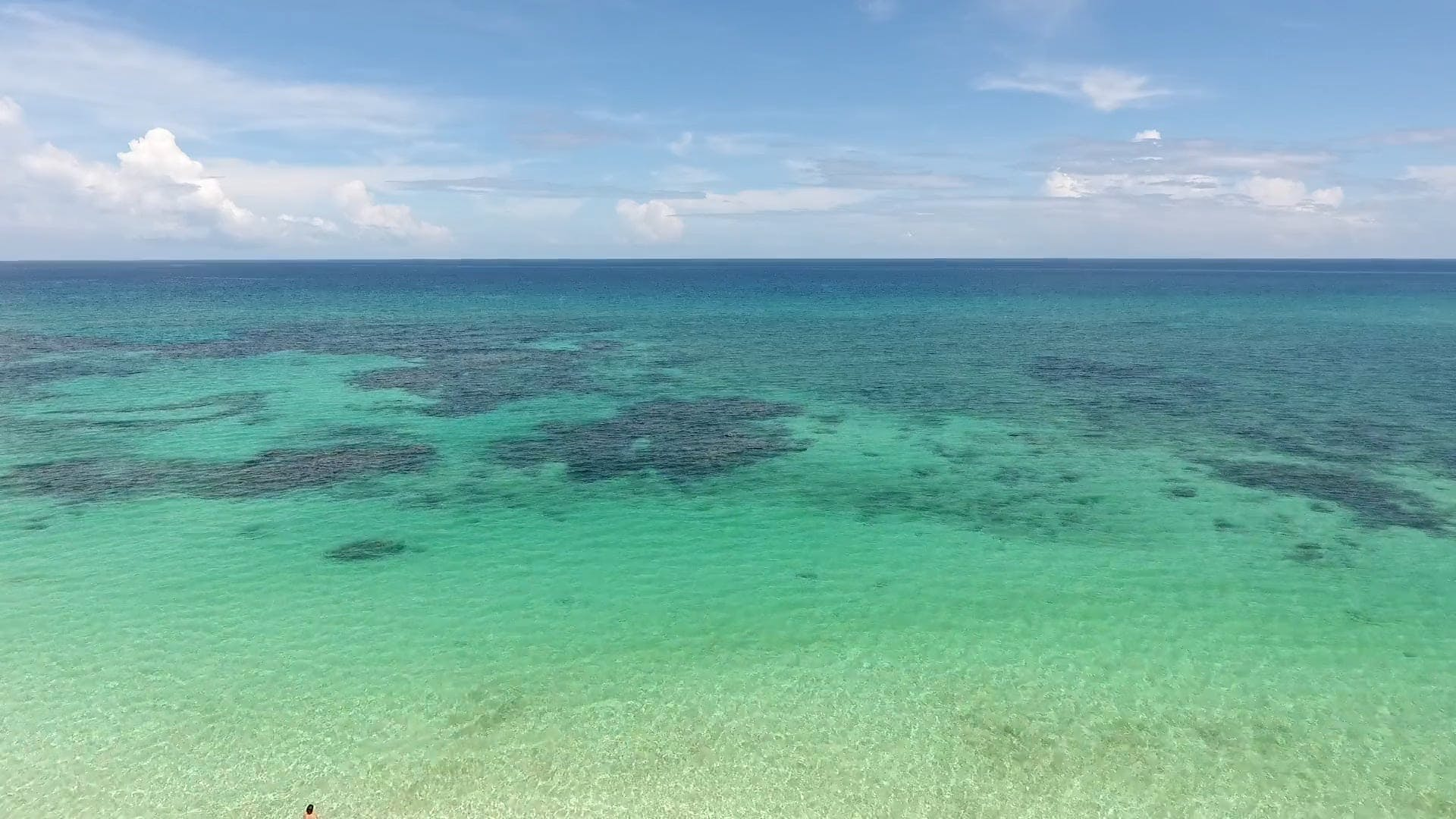 Wide Angle Video Of Beautiful Beach