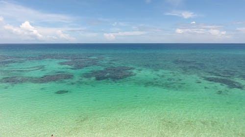 Wide Angle Video Of Beautiful Beach
