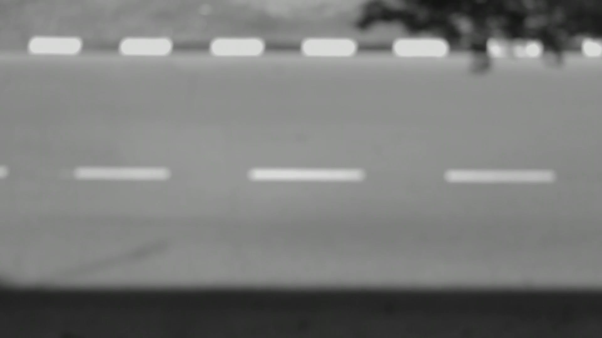 Black And White Footage Of Cars