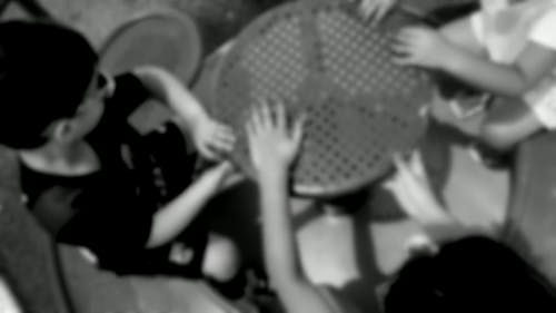Black And White Video Of Kids Playing