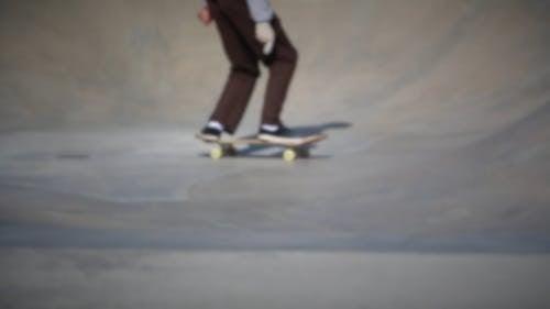 Skaters Doing Tricks