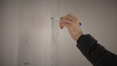 Writing On Whiteboard