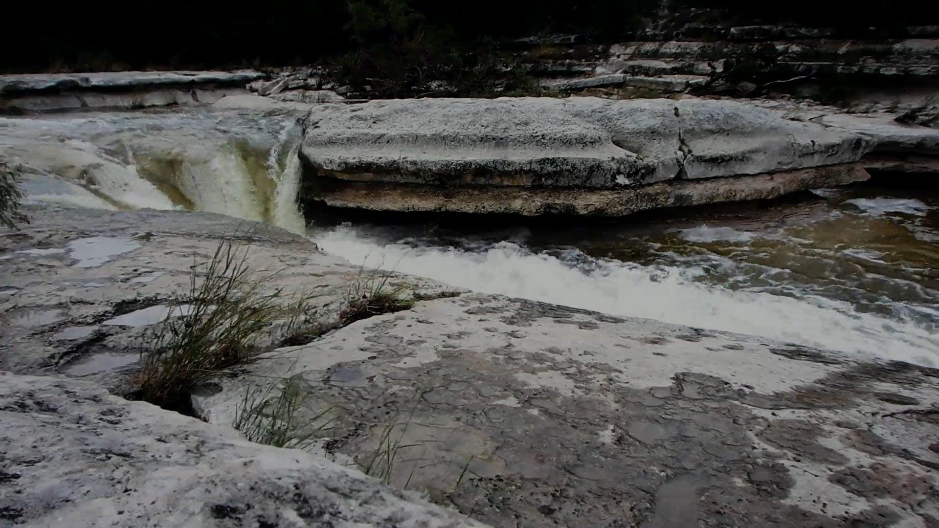 Flowing River Water