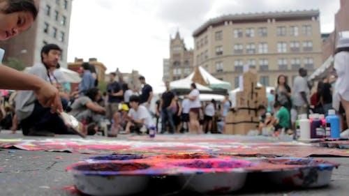 Street Painting Video