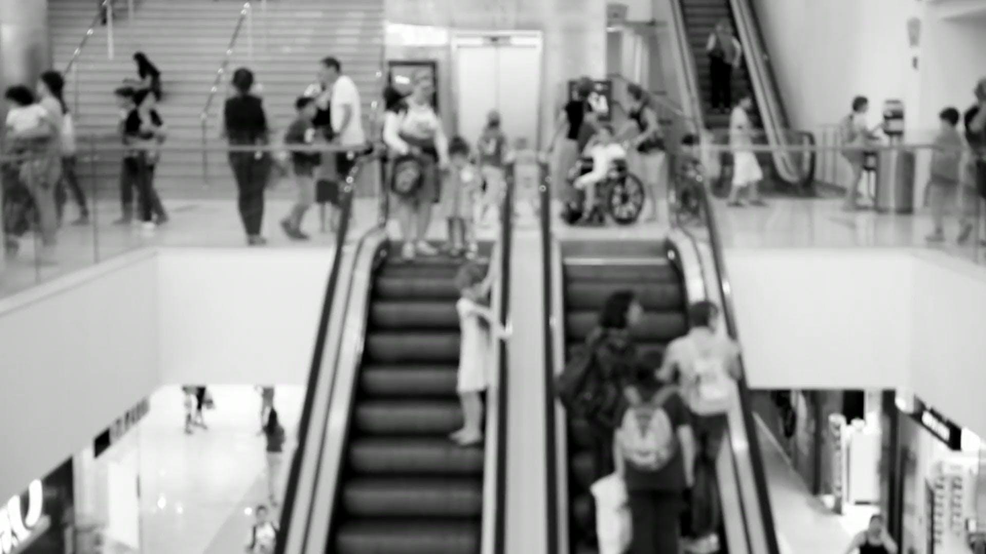 People On Escalators
