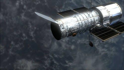 CG Animation Of Satellite