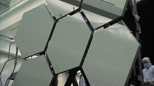 3D Mock-up Demonstration of a Satellite