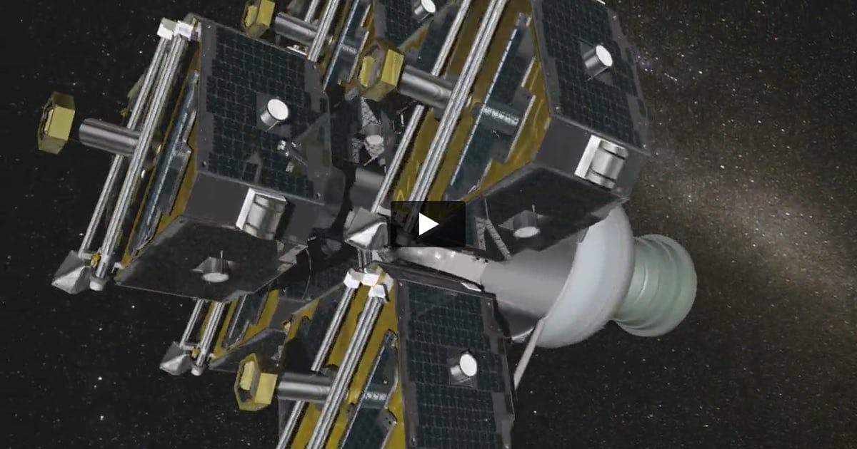 CGI Animation Rocket Take Off