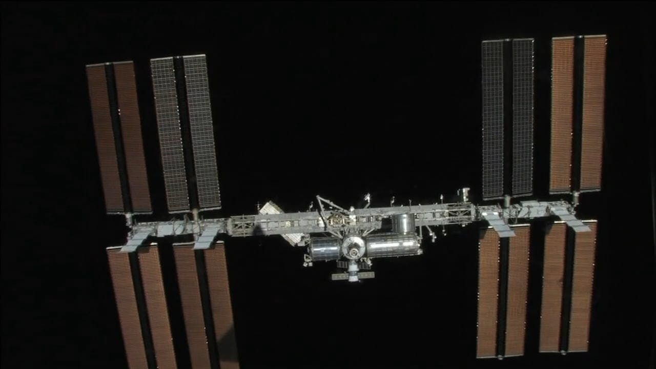 Video of Satellite in Orbit