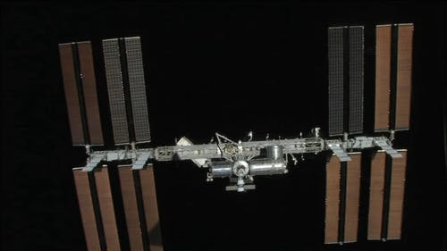 Video of Satellite in Orbit