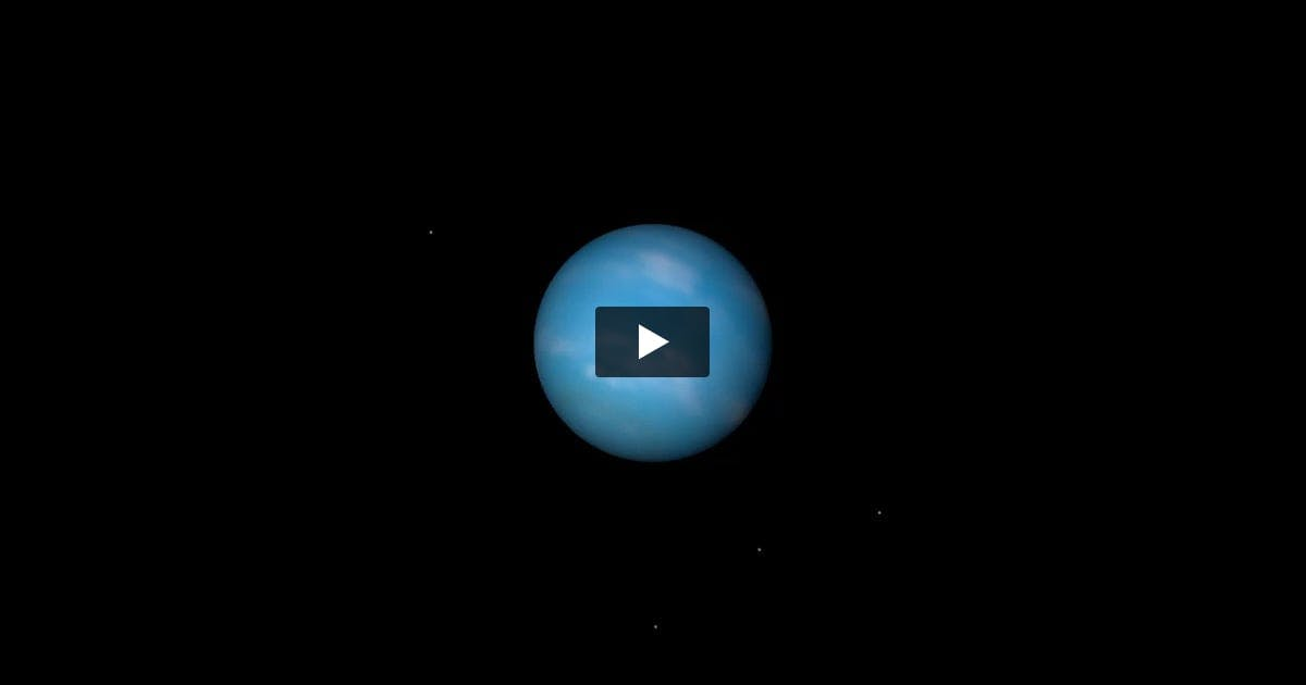 Blue Planet Revolving