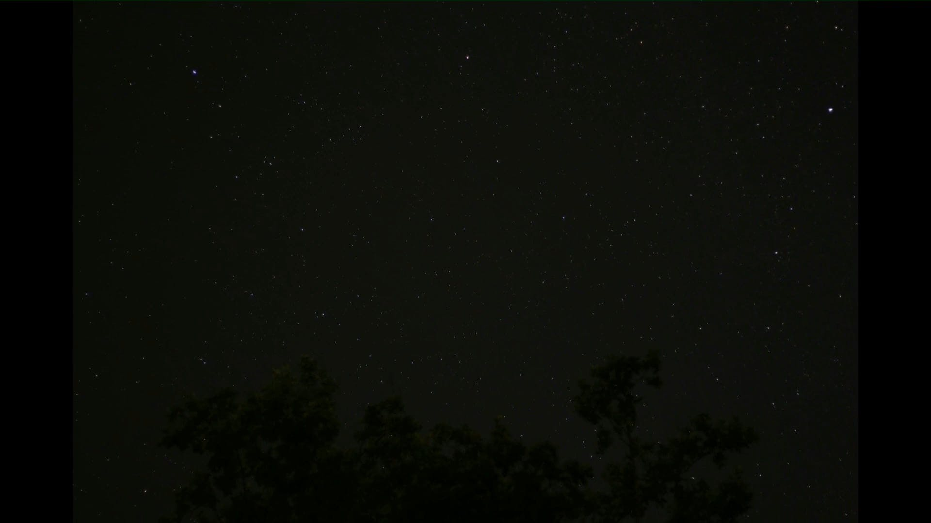 Video Of Night Sky
