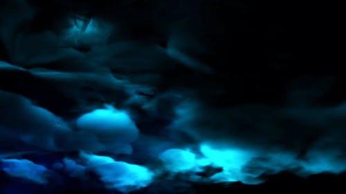 CG Animation Of Thunderstorm