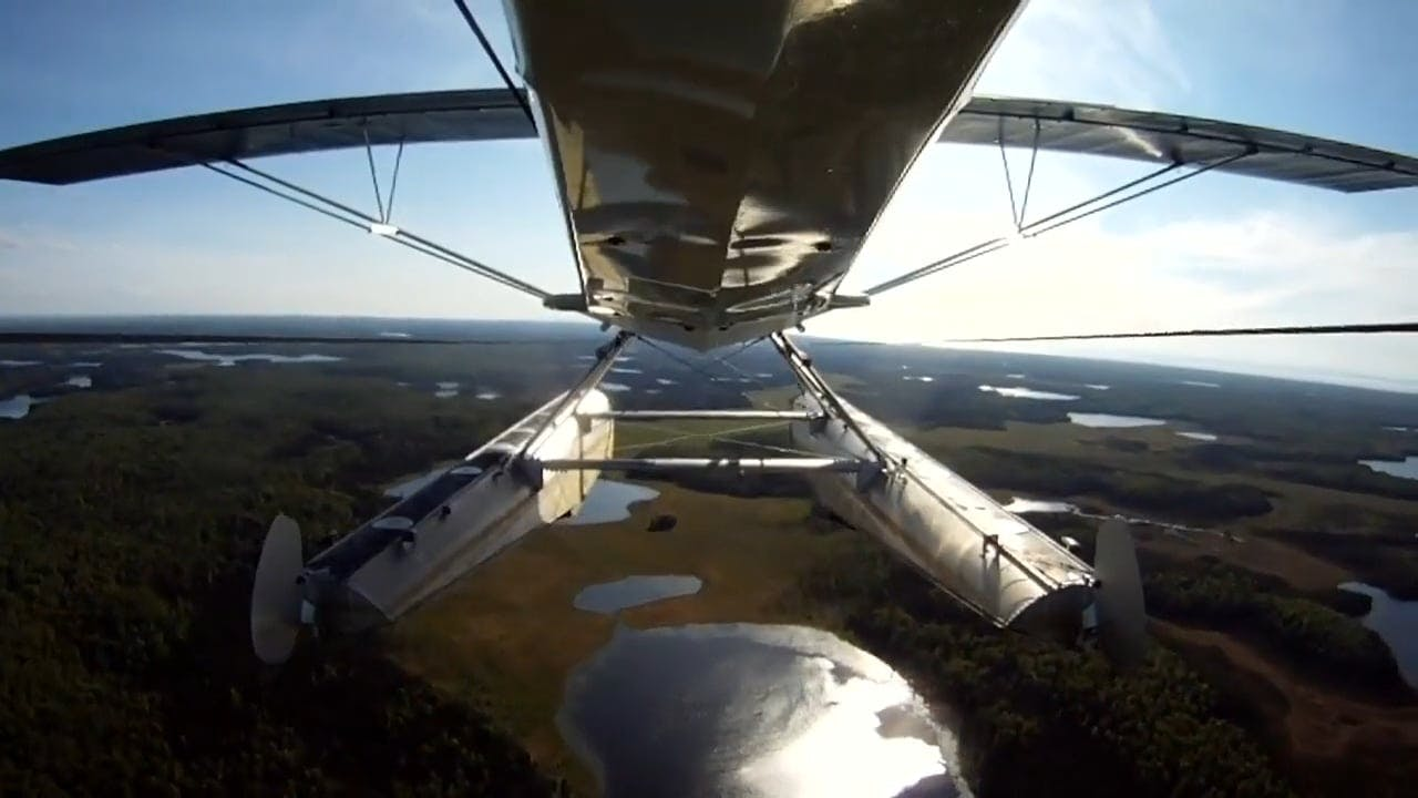 Video Footage Of Land From An Aircraft