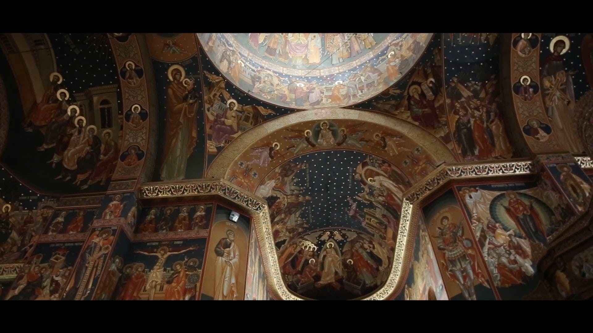 Video Footage Inside Church