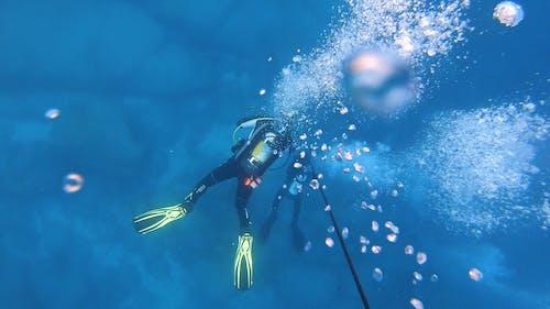 Video of a People Underwater