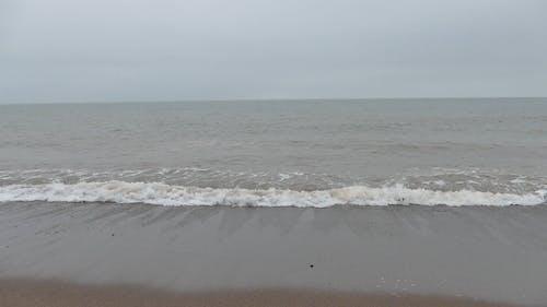 Big Waves Hitting Shore