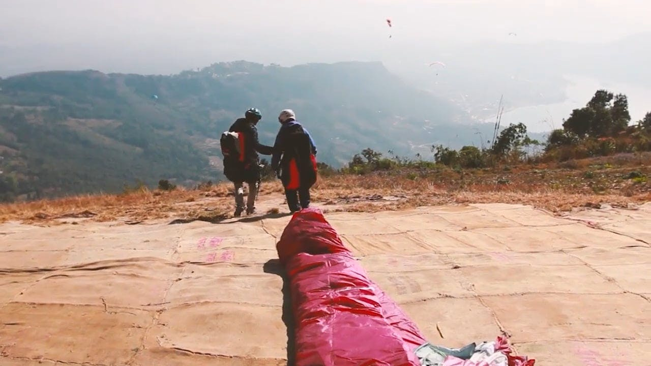 Video Of Paragliding